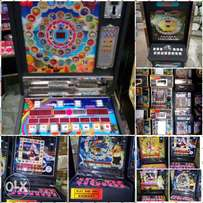 Lotto machines for sale.