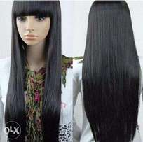 Ahube Fashion Store: Straight Fringe Wig