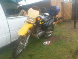 Scrambler on of road 200cc for sale
