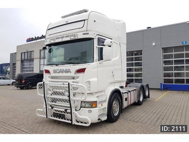 Scania R560 Topline, Euro 5, Retarder, Intarder, ADR - 2011