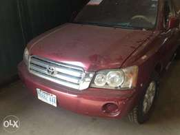 Fairly used Toyota Highlander