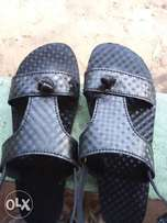 Original leather sandals and foot wears