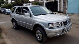 Isuzu Wizard SUV,Year 2000,3200cc V6 engine,auto,petrol,cln at 735k