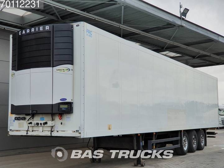 Schmitz Cargobull Carrier Vector 1850mt Multi-/ Bi-Temp Blumenbreit - 2010