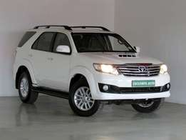 2013 TOYOTA FORTUNER 2.5 D4D 108000KM R269900