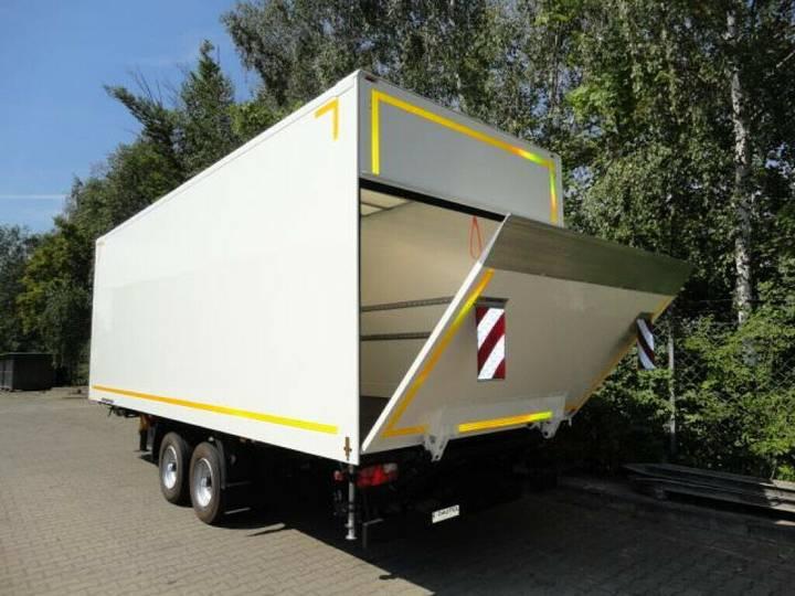 Möslein TK0105D-L Weiß Tandem Koffer mit Ladebordwand 1, - 2019