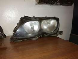 2004 bmw e46 head lamp