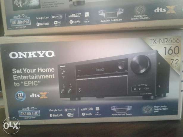Brand new Onkyo TX-NR656 7.2 Audio Video Receiver Woodly - image 2