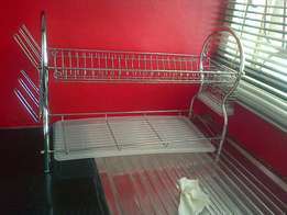 Brand new chrome dishrack