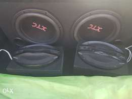 Subwoofer and sony 6x9
