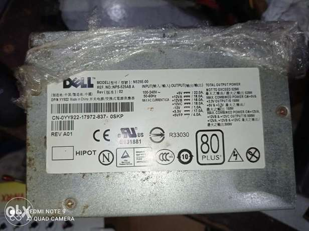 Dell power supply 525w max