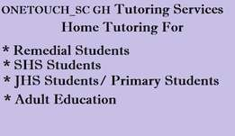 OneTouch_SC GH Tutoring Services