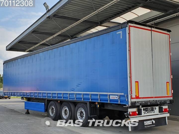 Schmitz Cargobull SCB*S3T Liftachse Palettenkasten - 2014