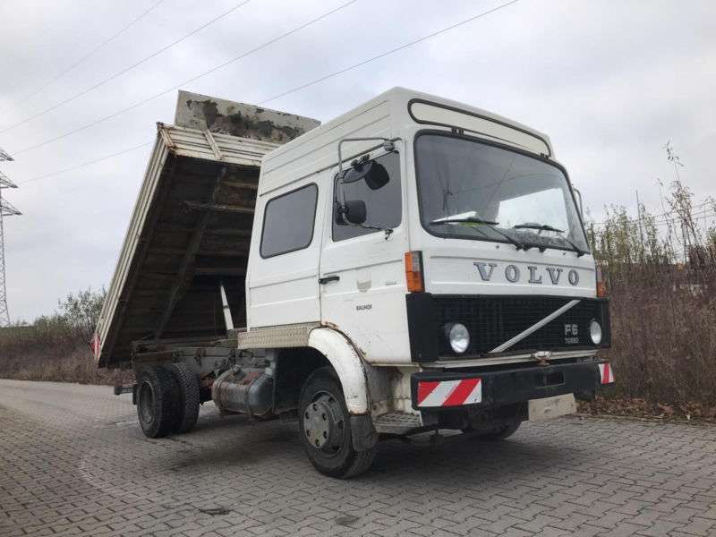 Volvo F6 Turbo, Meiller, 2.Hand, Orig. 250.000 km - 1985