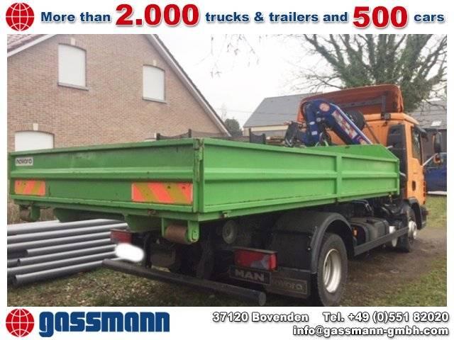 MAN TGL 12.250 4x2 BL Kran PM 8523 P, Kran/Abroller - 2011