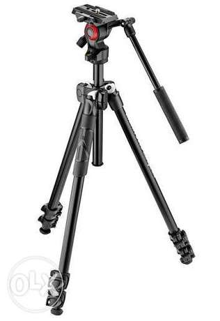 Manfrotto 290 Light 2-Stage Aluminum Tripod with Befree head