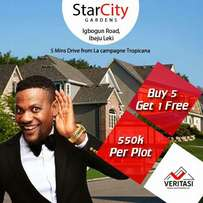 Do you know #550000 can get you a plot of land in Lagos?