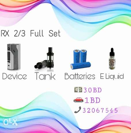 Brand new full set rx shisha best quality electronic cigarettes