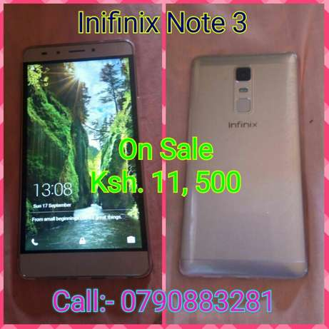 Brand New Infinix Note 3 Kisii Town - image 1