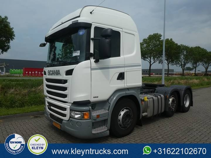 Scania G410 highline euro 6 adr - 2013