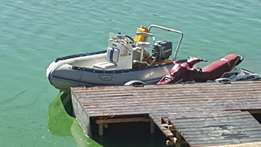 Rubberduck with 60hp mariner