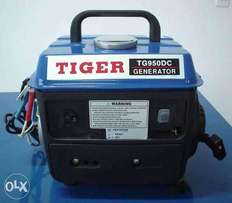 Brand new Tiger Generator full cooper coil with silence engine 2 years