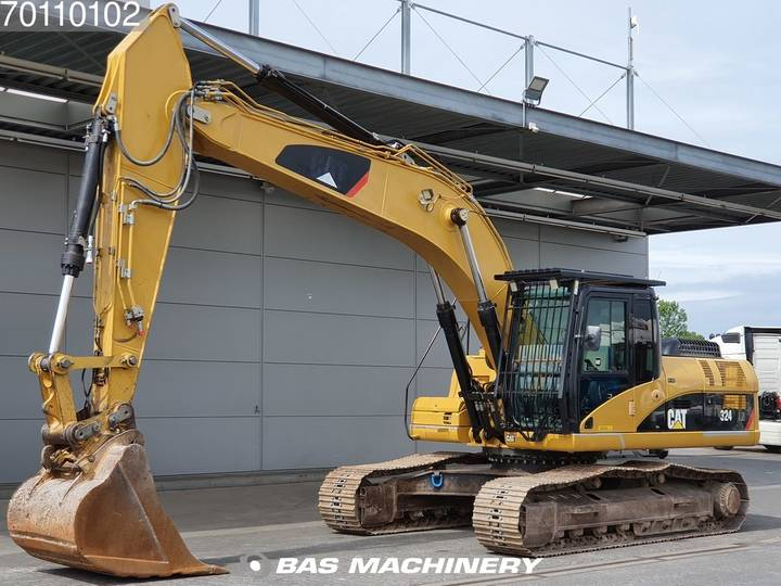 Caterpillar 324 D LN German dealer machine - 2007