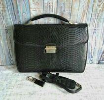 91ebbd27b040 Женская сумка деловая (портфель) Neri Karra.Нат. кожа питон