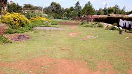 3/4 Acre Ngarariga Limuru land for sale near highway at 7 M