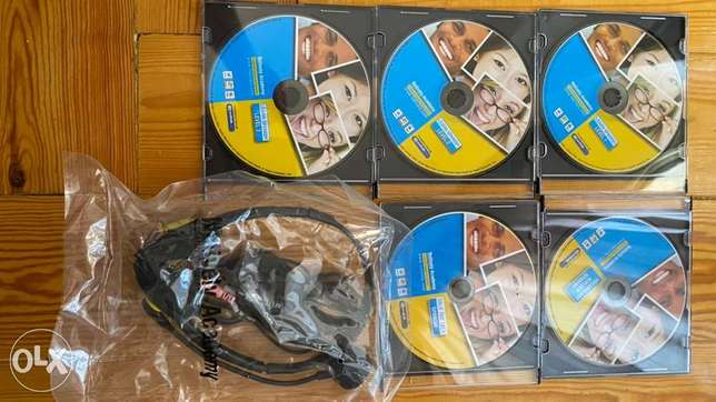 Spanish and French Languages Audio CDs