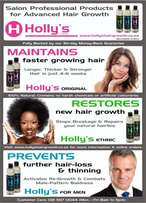 Holly's hair growth product