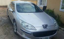 As good as new Manual Peugeot 407 for grab