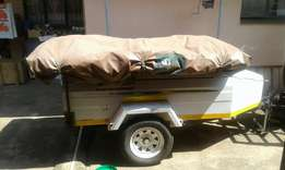 Trailer with rooftop tent for sale or swop
