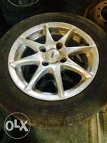 14 inch tsw rims an tyres