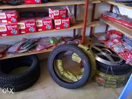 Motorcycle spares