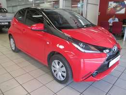 2017 Toyota Aygo 1.0 X-Play 5Dr Red 14,000km R 149,900