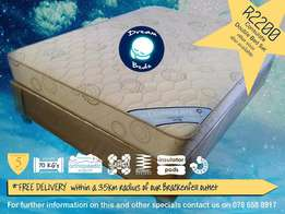 FREE Delivery* QUALITY Double Bed Set ON SALE for R 2200