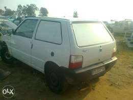 Fiat uno 1.2 mpi manual,2007 panelvan,stripping for spares from R100