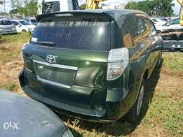 Toyota Vanguard Jungle green. 2010 model. KCP number Loaded with All