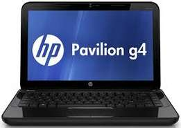 New HP Pavillion G4 laptop