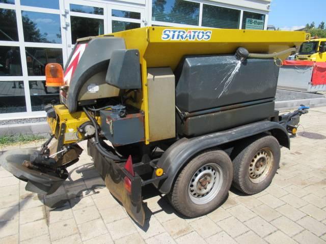 Nido ESVE AWK 2500-1 aanhanger zoutstooier 1,1 m3 + 500L - 2004