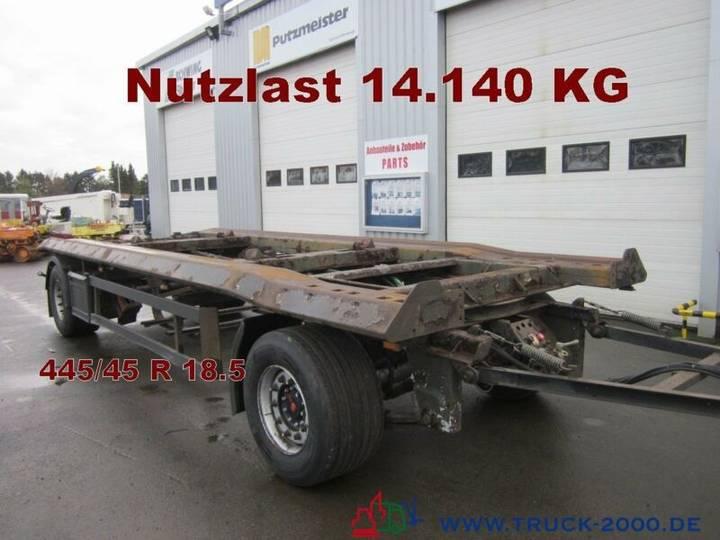 Schmitz Cargobull ACF 18 Scheibenbremsen Breitreifen 445/45 - 2003