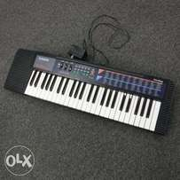portable casio keyboard 47keys with adapter