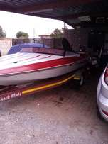Speed boat mercury 115