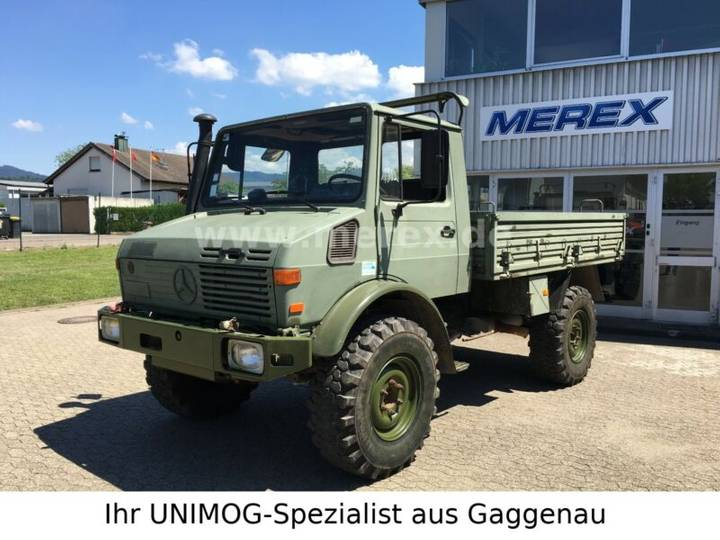 Unimog U1350L/1550L Belgien - 1994