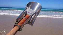 Metal Detecting TRAVEL Beach / Surf Sand Scoop