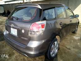 2005 model Toyota matrix clean naija used