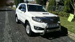 2015 Toyota fortuner 3.0 D-4D Heritage A/T