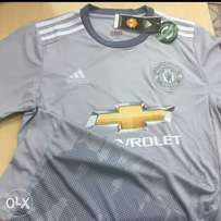 Authentic Manchester United 2017/18 Season Official Alternate Jersey