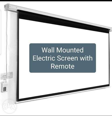"""New Boxpack Projector Screen 60"""",100"""",150"""" Tripod With Stand Wall Moun"""